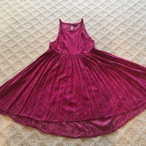 Plus Torrid Size 1 Bright Pink Sundress